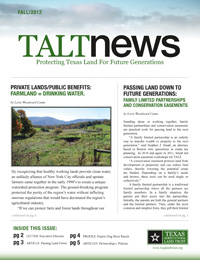 2012 TALT Fall Newsletter