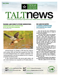 TALT Fall 2015 Newsletter