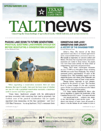 TALT Spring Newsletter 2016