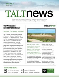 TALT 2012 Summer Newsletter