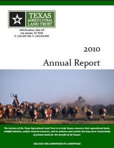 2010 TALT Annual Report