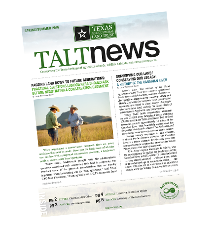 2016 TALT Newsletter