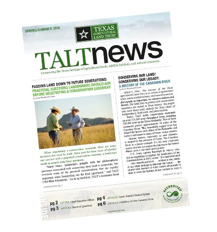 2016 TALT Newsletter